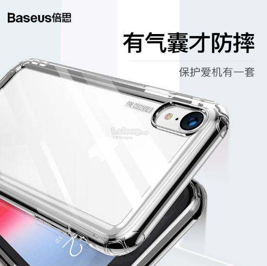 check out 07179 968b7 APPLE IPHONE XR X XS MAX BASEUS Airbag Drop Resistant TPU Case Cover