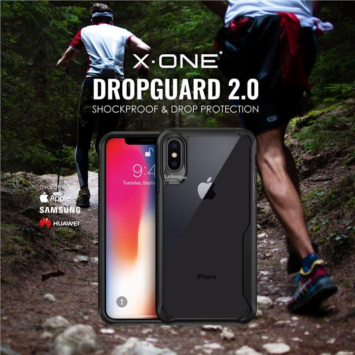 APPLE IPHONE XR X XS MAX X-One Dropguard 2.0 Shockproof Tough Case