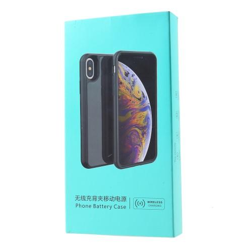 APPLE IPHONE XS MAX 6.5 INCH 6000MAH QI WIRELESS CHARGING BATTERY CASE