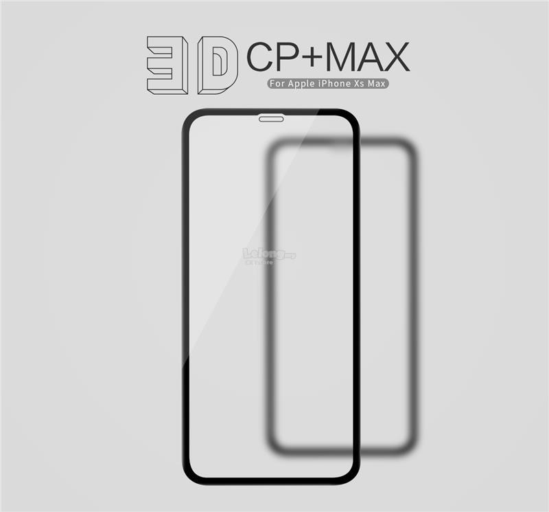 APPLE IPHONE XS MAX Nillkin 3D CP+ Max Full Coverage Tempered Glass