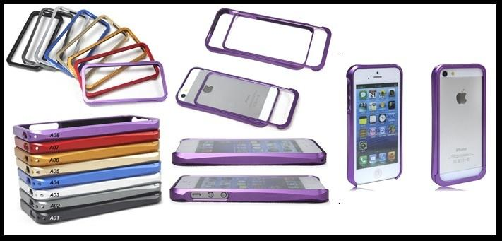 Apple Iphone5 Iphone 5 Aluminium Metal Bumper Case Casing