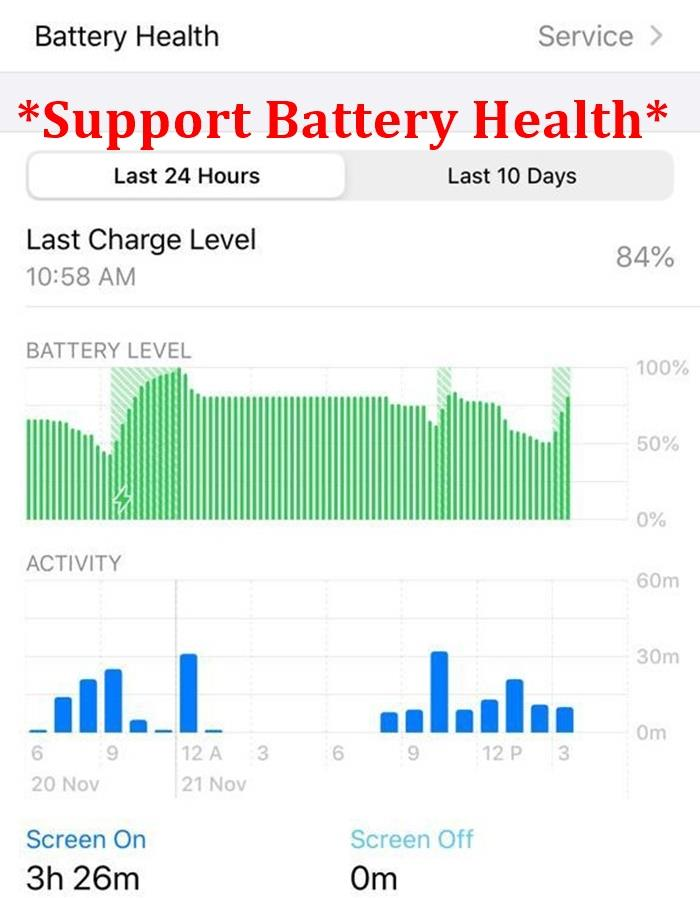 (Apple Japan PSE) 100% ORIGINAL ORI Fast Charge Battery iPhone XR 6.1'