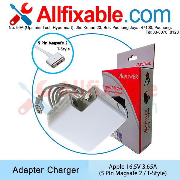 Apple Macbook 16.5V 3.65A Magsafe T-Style A1465 A1466 Adapter Charger