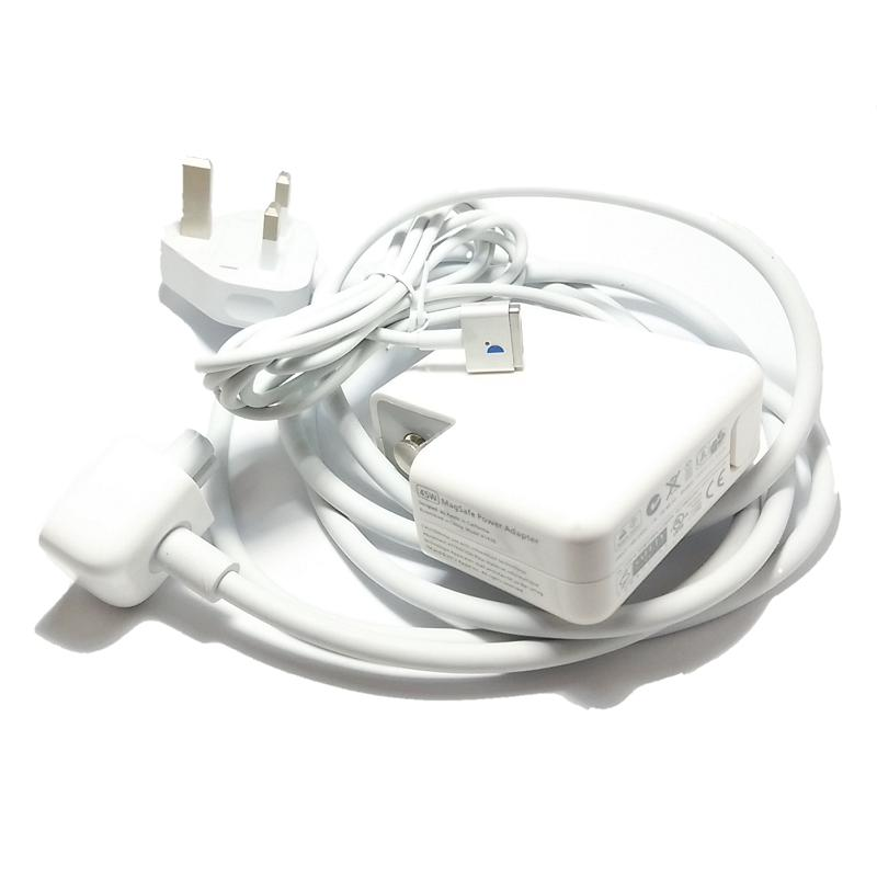 Apple Magsafe 2 45W MacBook Air Power Charger   mid 2012 w EXT cord