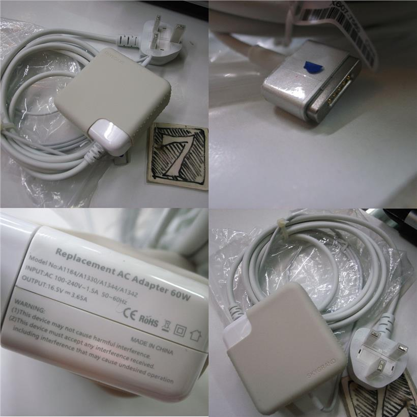 Apple OEM 60W MagSafe 2 Power Adapter Charger MacBook Pro Air Rm128