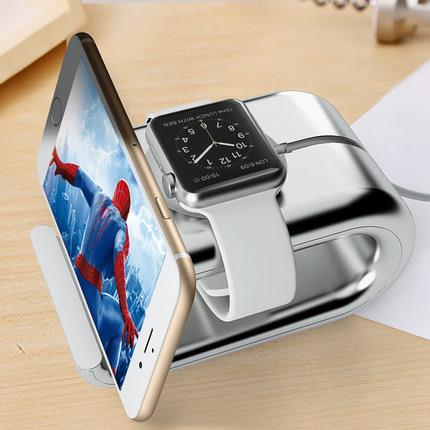 Apple Watch iwatch iPhone 6S 7 Plus Charging Station Stand Case Cover