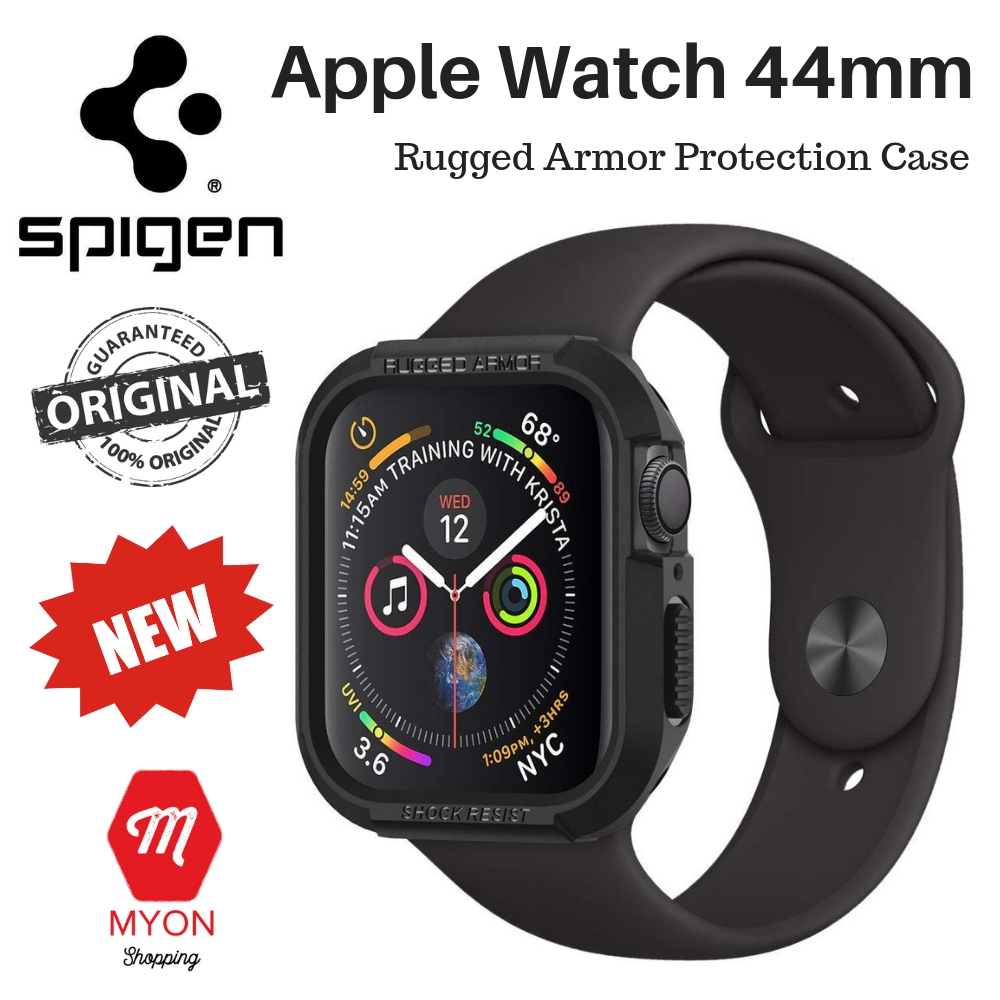 pretty nice 9c53a ee159 Apple Watch Series 4 (44mm) Case - SPIGEN Rugged Armor [Protection]