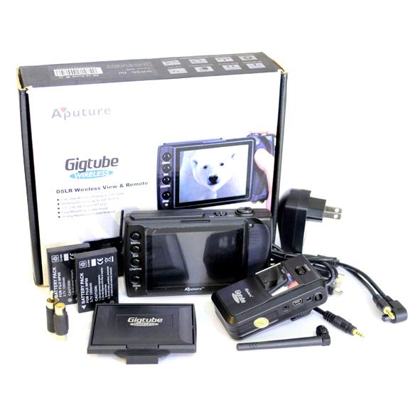 Aputure Gigtube Wireless GW-C2 Live View Finder and Remote Capture Kit