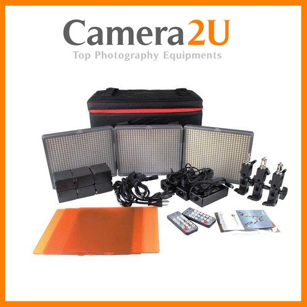 Aputure HR672 3 LED Light Kit HR672KIT-WWS