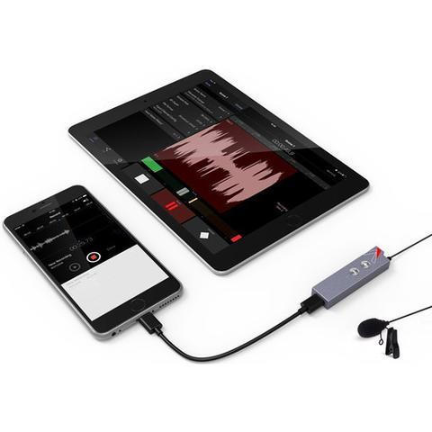 APUTURE A.LYRA DIGITAL LAVALIER MICROPHONE FOR APPLE IPHONE