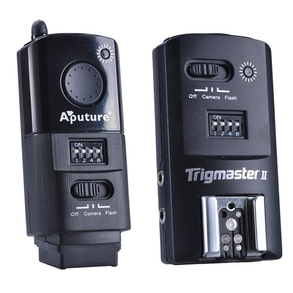 Aputure Trigmaster II MXII 2.4G Wireless Flash Trigger Nikon 1Tx & 1Rx