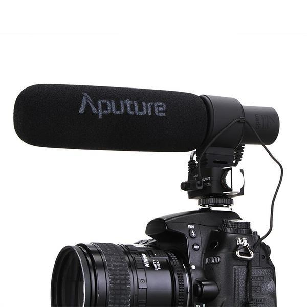 APUTURE V-MIC D2 CAMERA SHOTGUN MICROPHONE