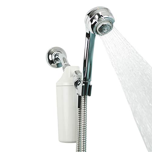 ~ Aquasana Shower Water Filter System w/ Handheld Massaging - Filters Over 90%