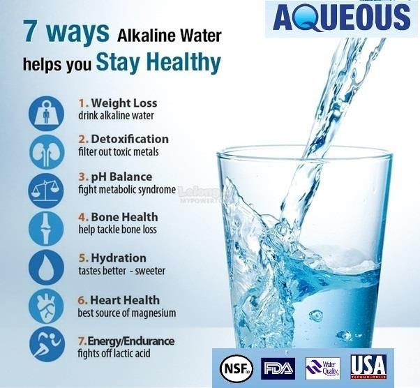 Aqueous 5-Stage Alkaline Energy Water Filter Purifier