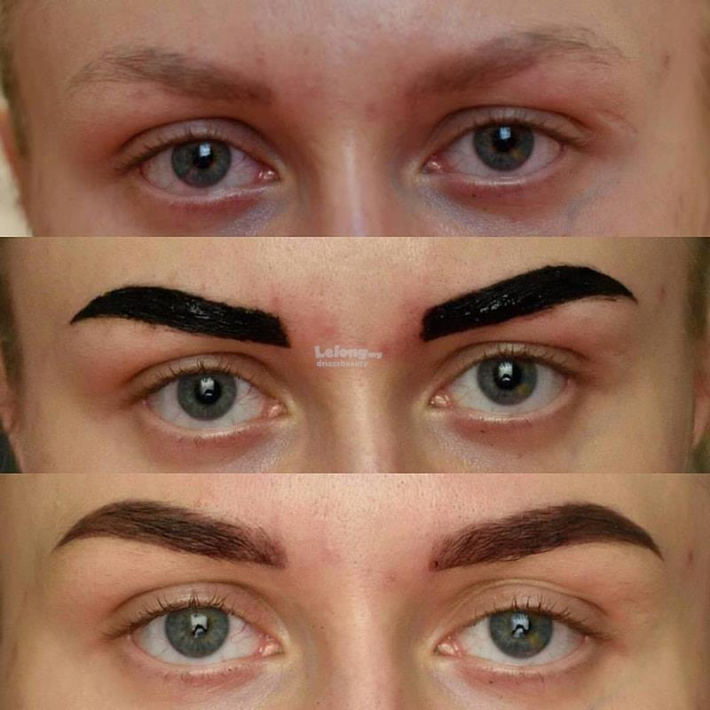 Arabic Brows Henna Eyebrow End 3 6 2018 11 15 Am