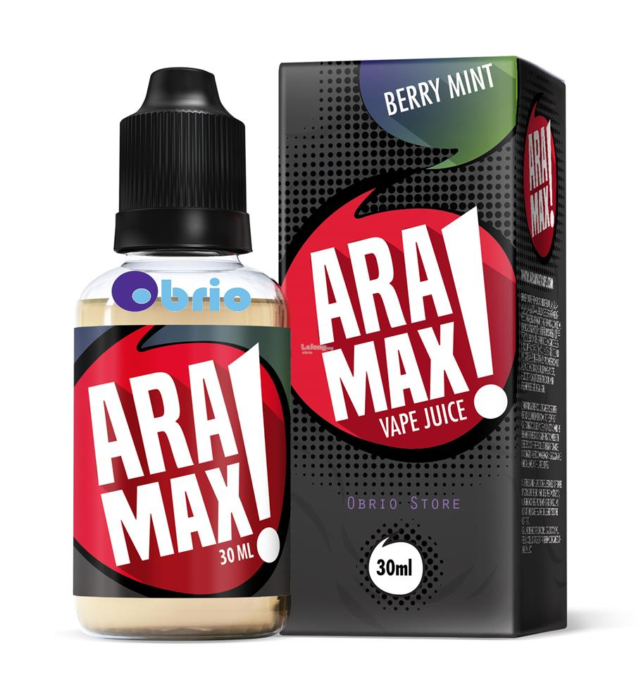 Best Ejuices Of 2020 ARAMAX Berry Mint 30ml vape ejuice e (end 1/13/2020 9:01 PM)