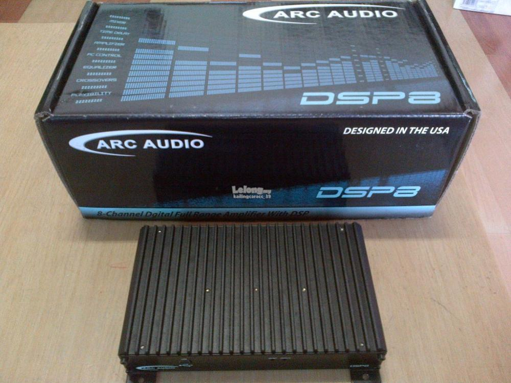 Arc audio dsp 8