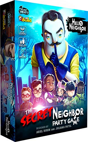 Arcane Wonders Hello Neighbor The Secret Neighbor Party Game