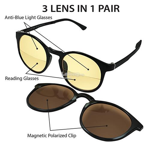 Archgon 3 Lens in 1 Pair * +1.5 (GL-R2102-K15)