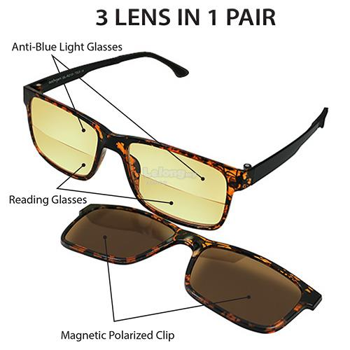 Archgon 3 Lens in 1 Pair * +2.0 (GL-R2101-TO20)