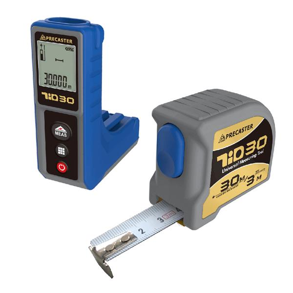 ARDEN TIO30 50M Laser Distance Meter with Measurement Tape 3M