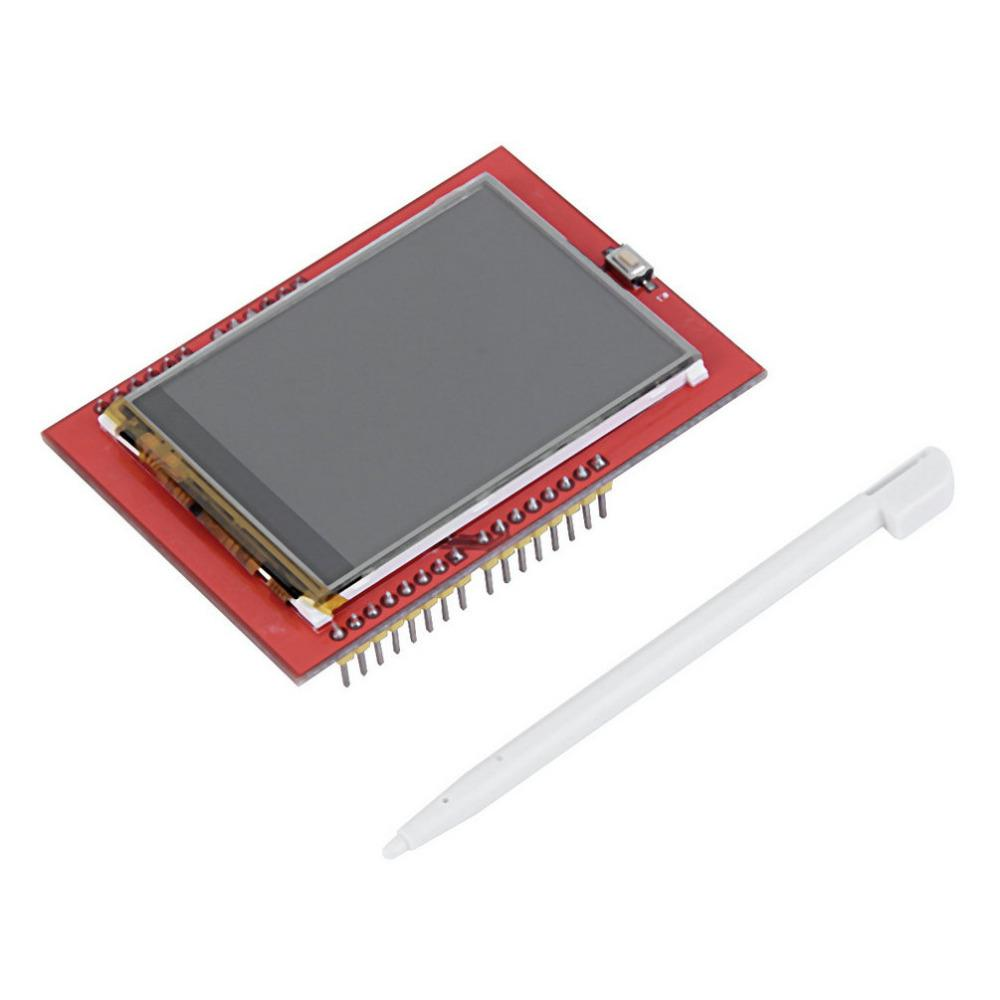 Arduino 2 4 Inch TFT Touch Screen Display Shield With SD Card Reader