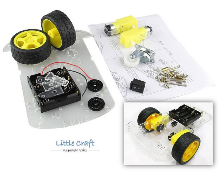 Arduino 2WD Smart Robot Car Chassis Kit