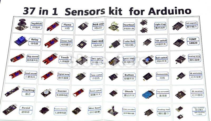 Arduino in sensor starter end pm
