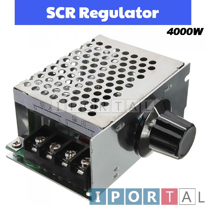 Arduino 4000W AC-AC Regulator LED Dimmer / Motor Speed Controller