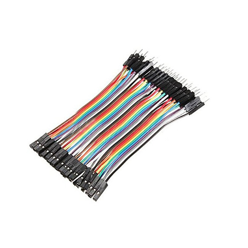Arduino 40p Breadboard Dupont Jumper Wire Female To Male (FM) (40Pin 30cm)