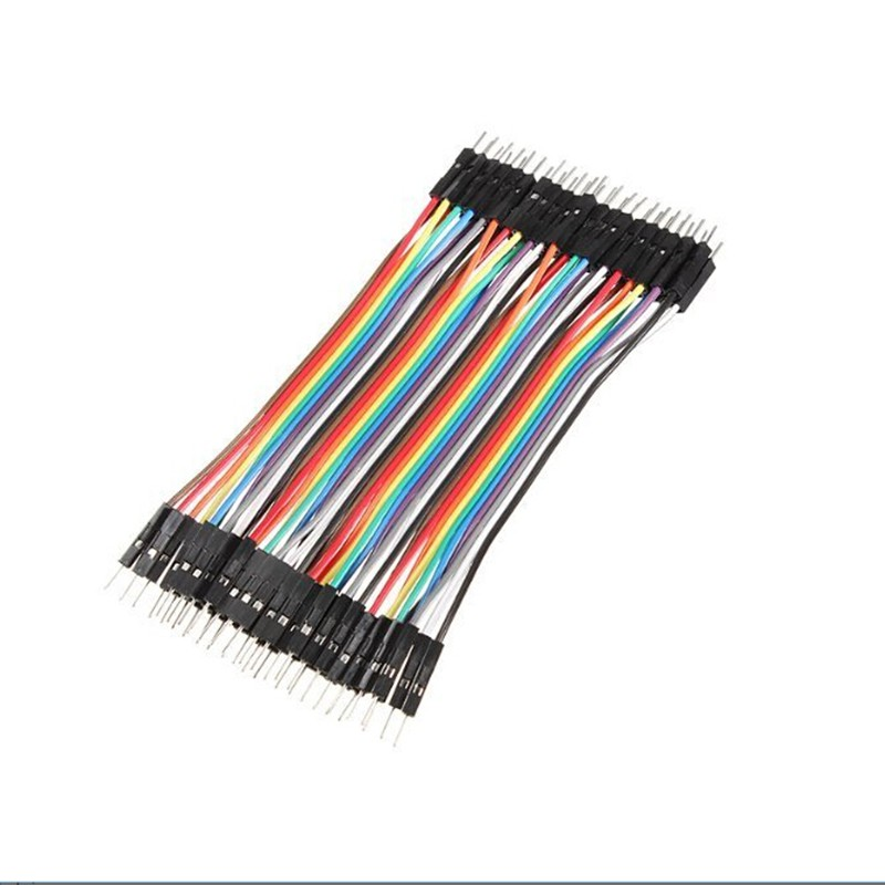 Arduino 40p Breadboard Dupont Jumper Wire Male To Male (MM) (40Pin)