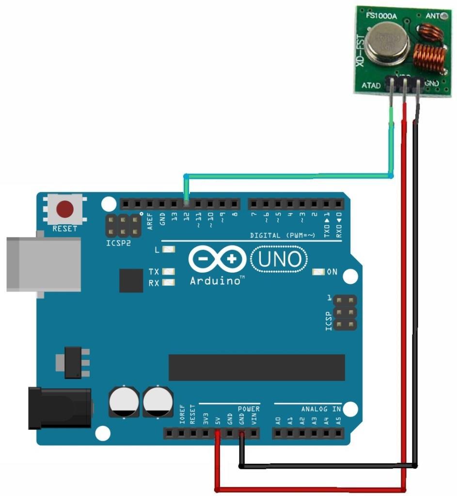 Grove - 433MHz Simple RF link kit - Grove for Arduino
