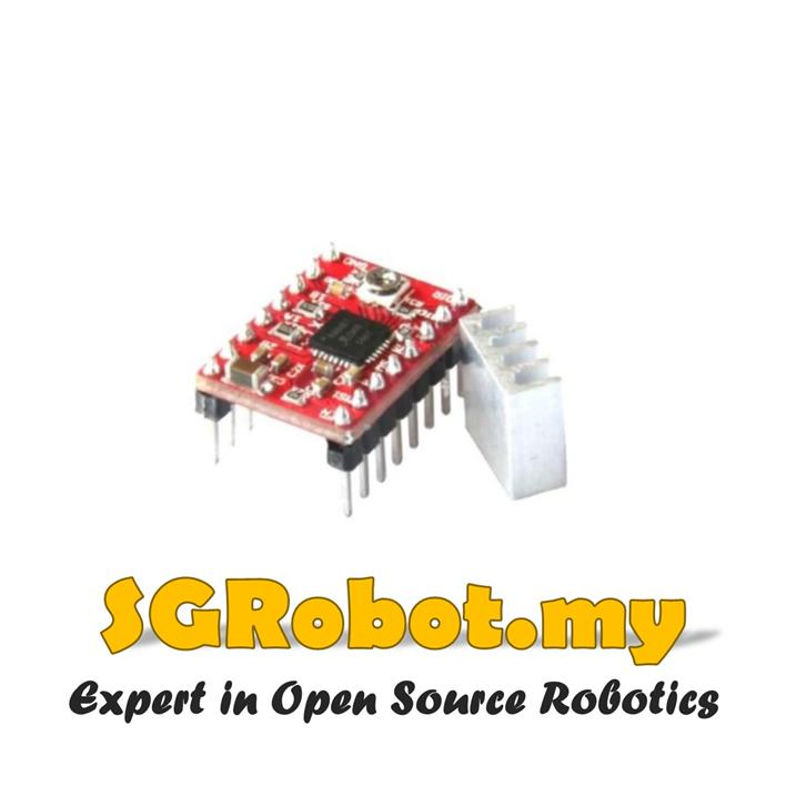 Arduino CNC 3D Printer A4988 2A DC Stepper Motor Driver -Free Heatsink