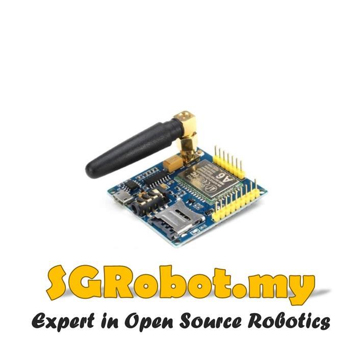 Arduino GPRS GA6 GSM Wireless SMS Phone Call Module / Upgrade SIM900A
