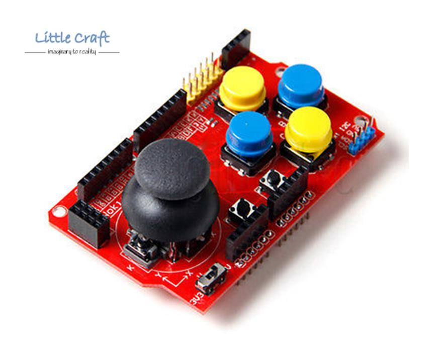 Arduino iot joystick shield game co end  pm