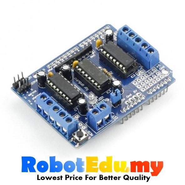 Arduino l293d dc motor driver shield end 1 8 2020 1 15 pm for L293d motor driver price
