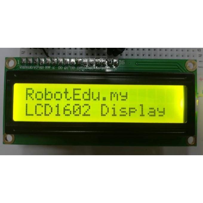 Arduino LCD 1602 LCD1602 (16x2) Liquid Crystal Display