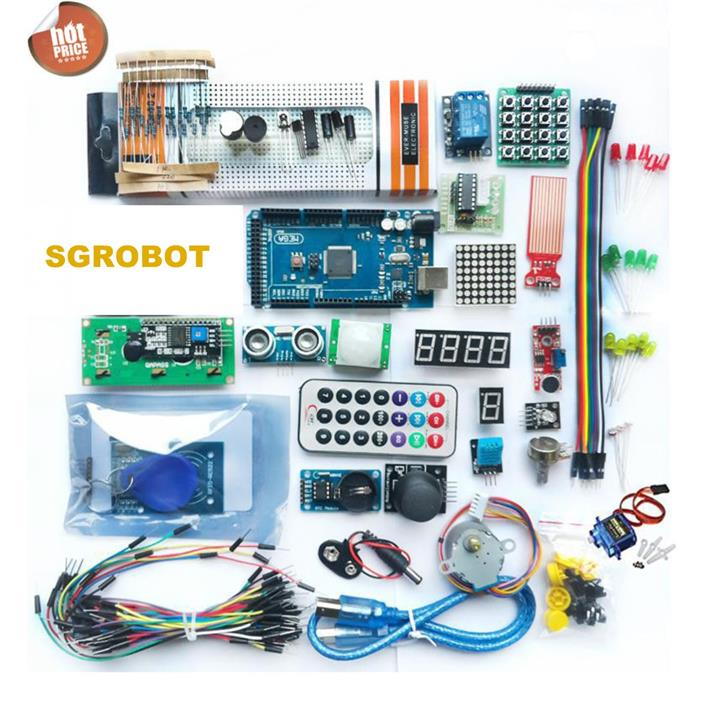 Arduino Mega 2560 Upgraded Ultimate Sensor Learning Starter Kit