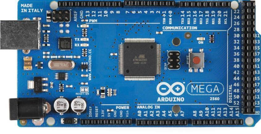 Arduino mega microcontroller atmega end pm