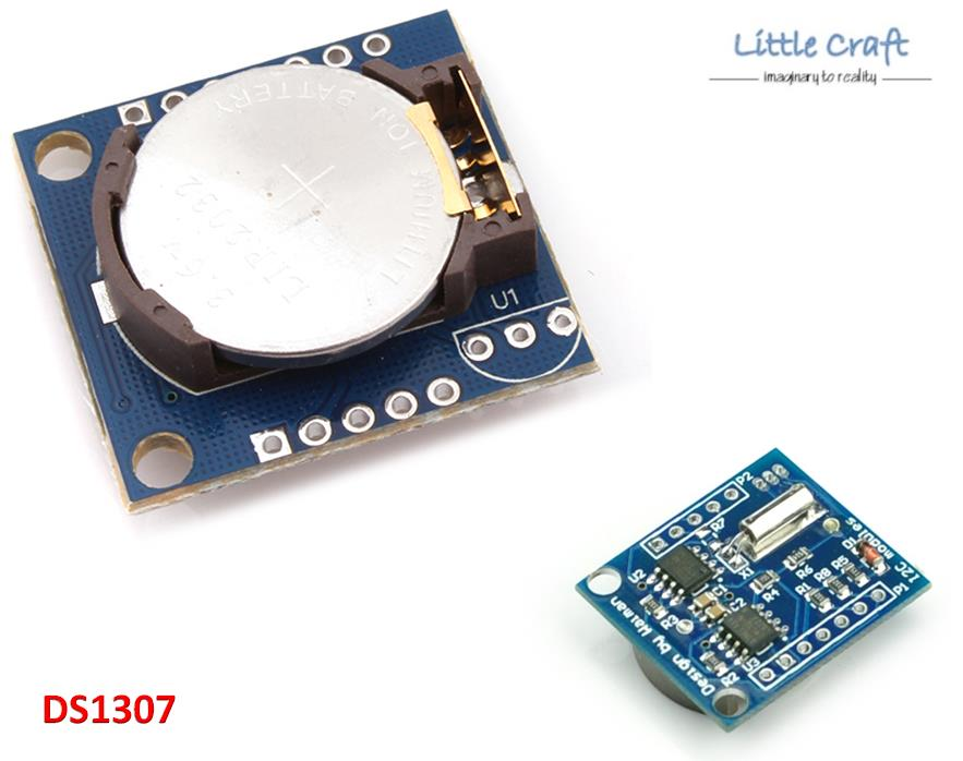 Package includes. 1x Precision Real Time Clock RTC Module DS1307 24C32 I2C Module