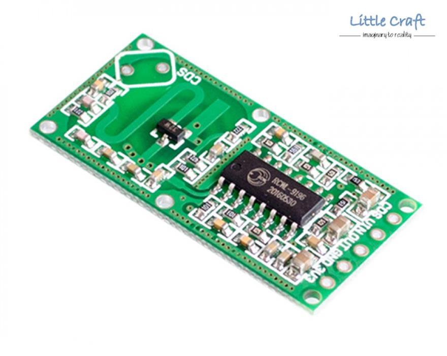 Arduino Rcwl 0516 Microwave Radar Induction Motion Detector Module