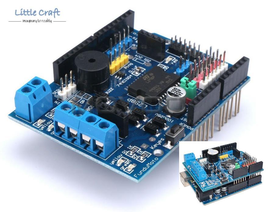Arduino robot uno l p motor shiel end  pm