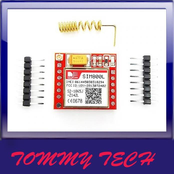 Arduino SIM800L GPRS GSM Tracking Module with Antena & SIM Slot