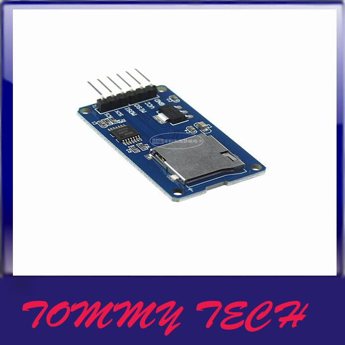 Arduino SPI ICSP interface Micro SD Card Adapter Reader Module