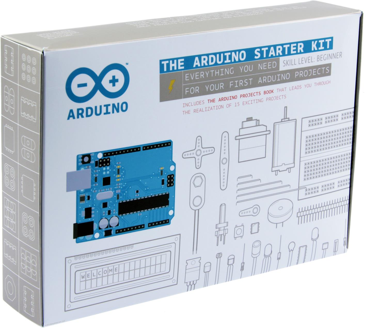 Arduino Starter Kit (For Beginner Skill Level) [By WallE Grocery]