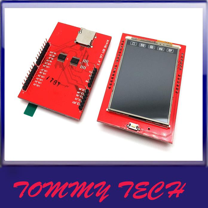 Arduino tft lcd touch screen shield end pm