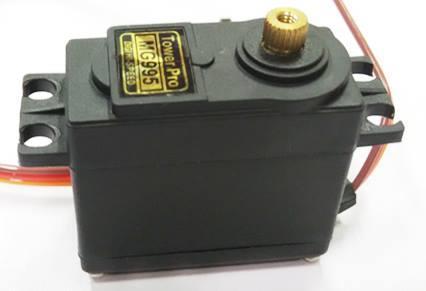 Arduino Towerpro MG995 180 Degree Metal Servo Motor with parts