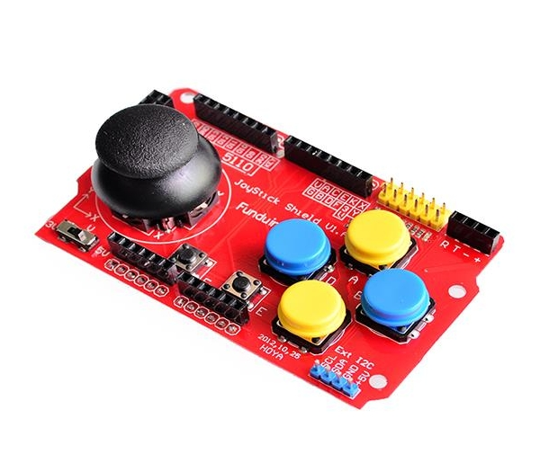 Arduino UNO PS2 Joystick Button Shield V1.A - Wireless Device Pinout