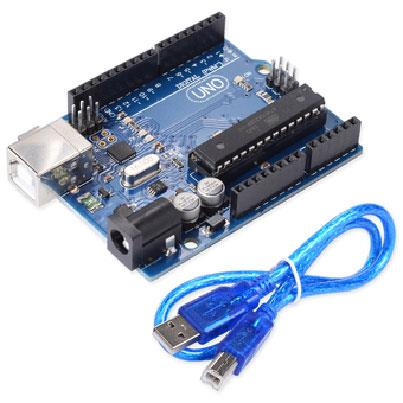 Arduino Uno R3 Compatible With Atmega16U2 (Free USB Cable)