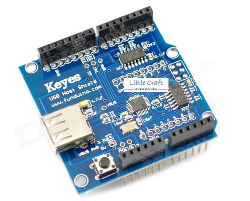 Arduino usb host shield v end  pm